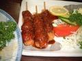 風来坊の味噌串カツ